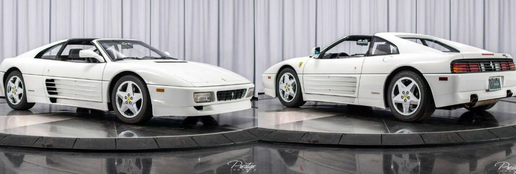 1991 Ferrari 348 TS Exterior Passenger Side Front and Driver Side Rear