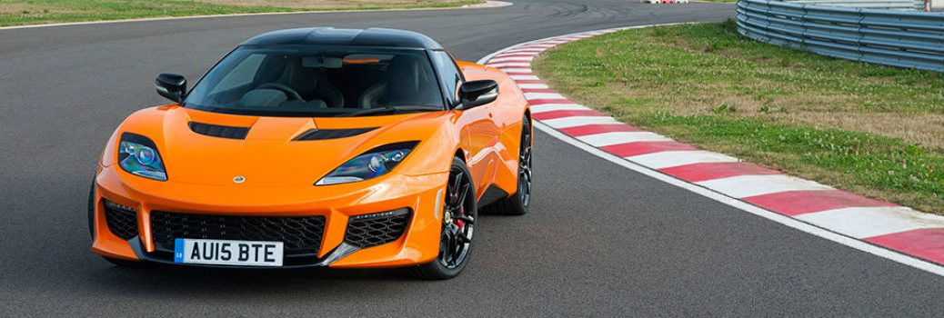 2018 Lotus Evora 400 Exterior Driver Side Front Angle