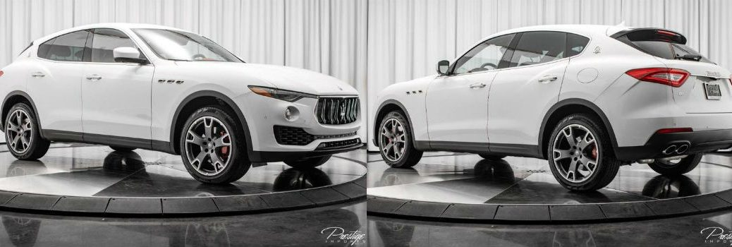 2018 Maserati Levante Exterior Passenger Side Front Driver Side Rear