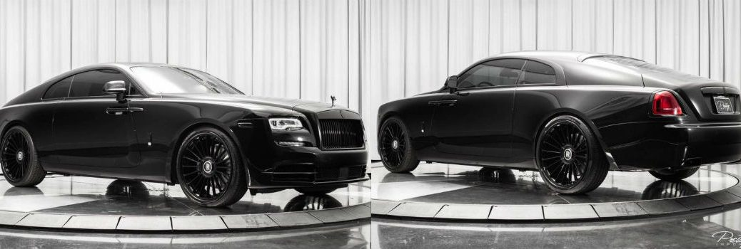 2018 Rolls-Royce Wraith Exterior Passenger Side Front Driver Side Rear Profiles