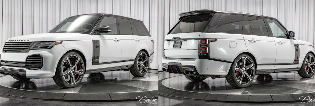 2019 Land Rover Range Rover Overfinch Exterior Driver Side Front Passenger Side Rear Profiles