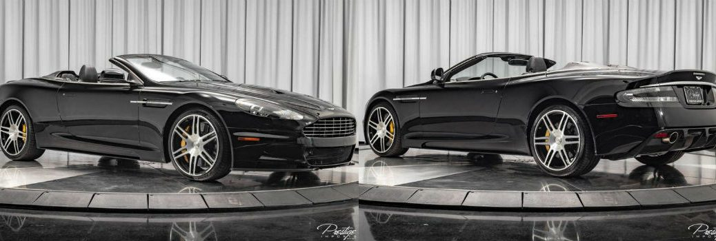 2012 Aston Martin DBS Carbon Edition Exterior Passenger Side Front Driver Side Rear Profiles