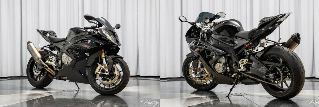 2015 BMW S1000RR Front Right and Rear Left