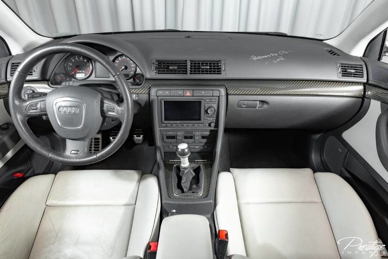 2008 Audi RS 4 Exterior Interior Cabin Dashboard with Signature