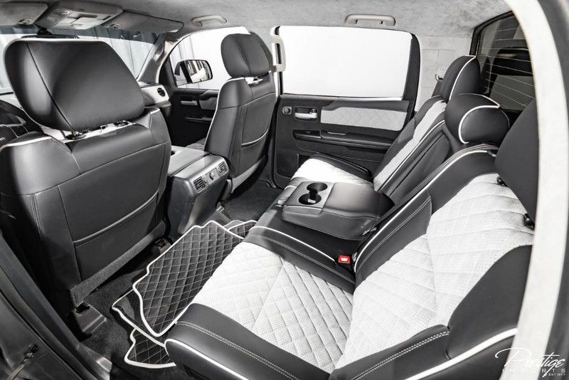 2017 Toyota Tundra Devolro Interior Cabin Rear Seating
