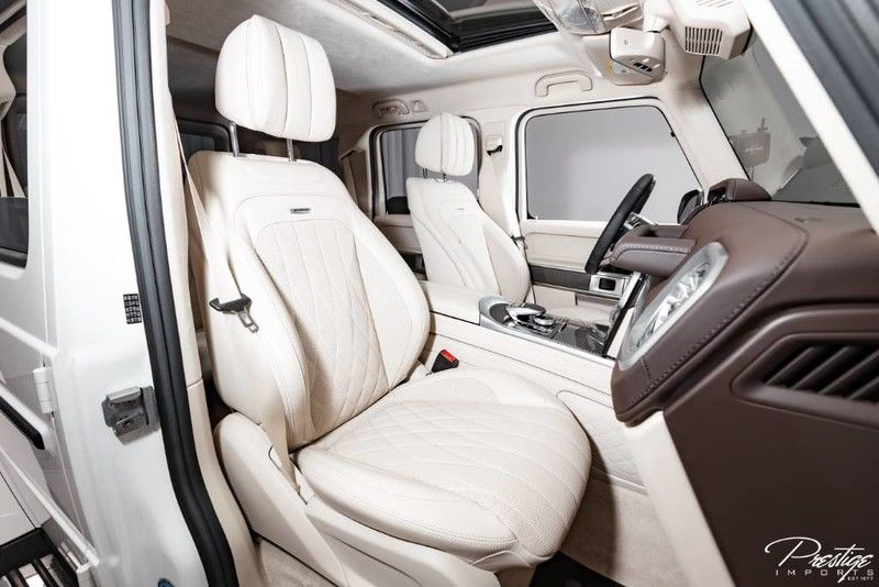 2019 Mercedes-Benz AMG G 63 Interior Cabin Front Seating