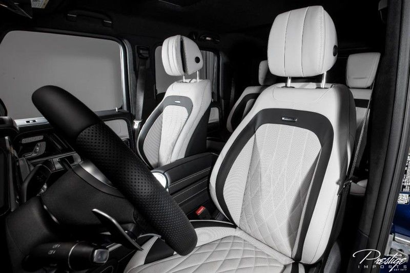 2020 Mercedes-Benz G-Class AMG G 63 Interior Cabin Front Seating