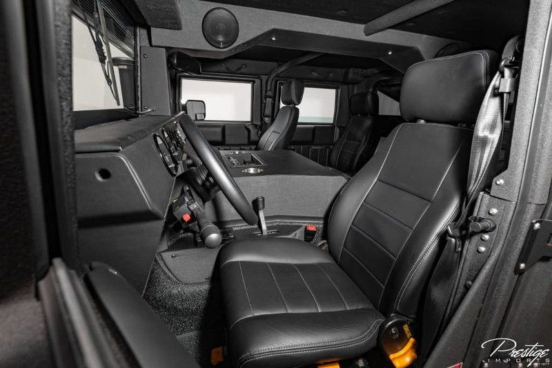 2018 Hummer H1 Mil-Spec Automotive Interior Cabin Front Seating