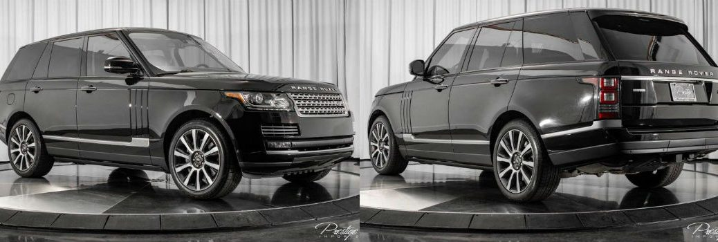 2014 Land Rover Range Rover Supercharged Autobiography Exterior Passenger Side Front Driver Rear Profiles