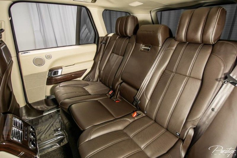 2014 Land Rover Range Rover Supercharged Autobiography Interior Cabin Rear Seating