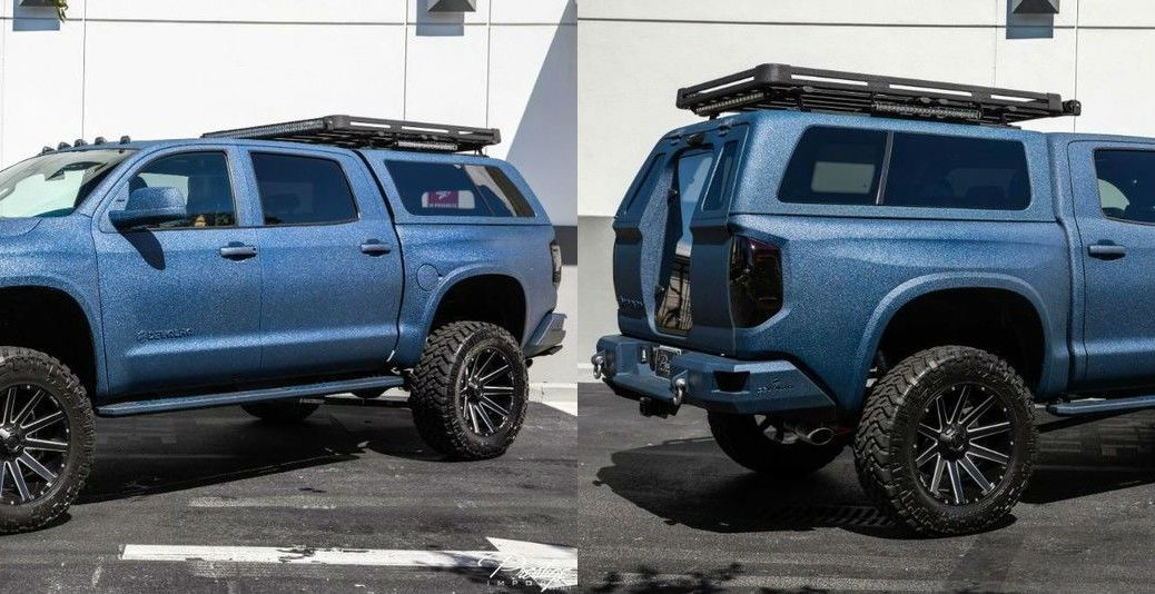 2019 Toyota Tundra DEVOLRO Limited Exterior Driver Side Front Passenger Rear Profiles