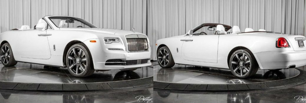 2019 Rolls-Royce Dawn Inspired by Music Edition Exterior Passenger Side Front Driver Rear Profiles