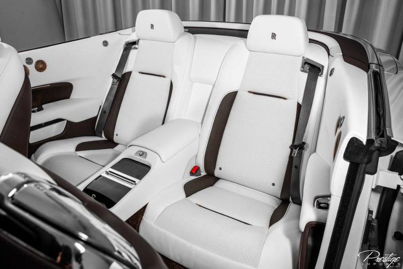 2019 Rolls-Royce Dawn Inspired by Music Edition Interior Cabin Rear Seating