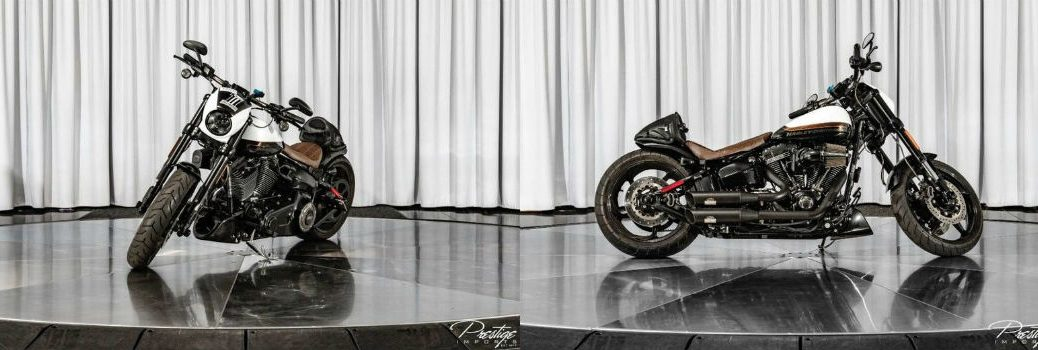 2017 Harley-Davidson Breakout CVO Motorcycle Left Side Front Right Profile