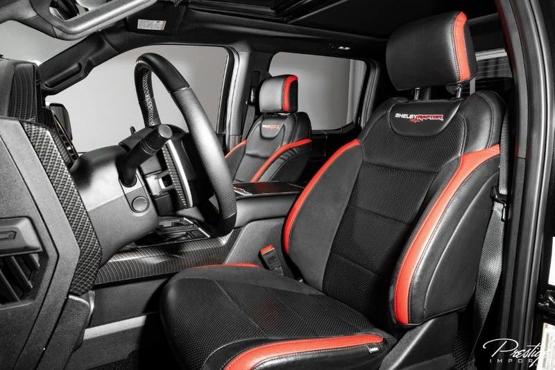 2019 Ford F-150 Raptor Interior Cabin Front Seating