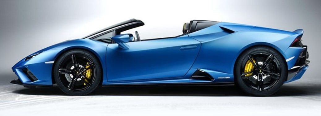 2020 Lamborghini Huracan EVO Rear-Wheel Drive Spyder side view