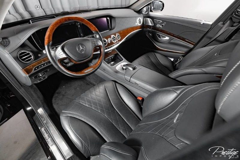 2016 Mercedes-Benz S-Class Maybach S 600 Interior Cabin Front Seating and Dashboard