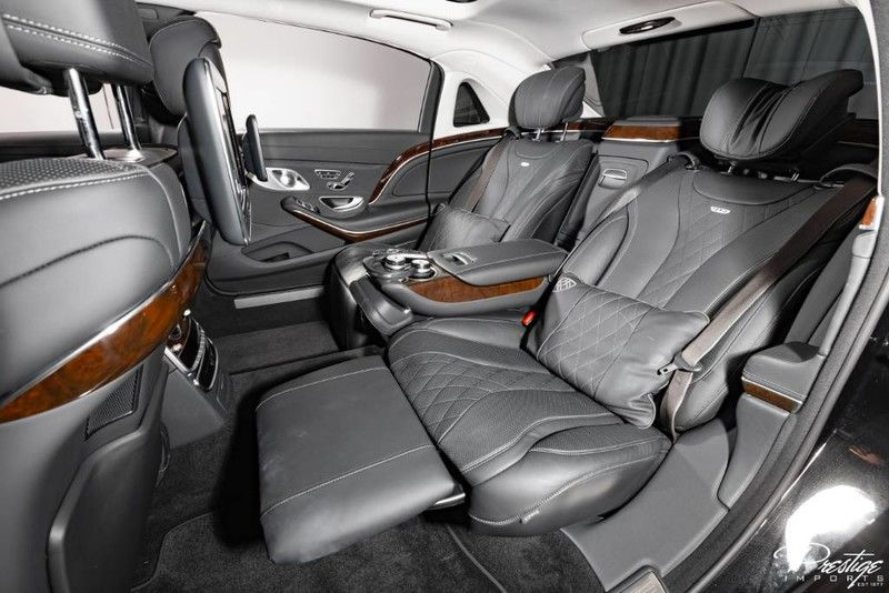 2016 Mercedes-Benz S-Class Maybach S 600 Interior Cabin Rear Seating