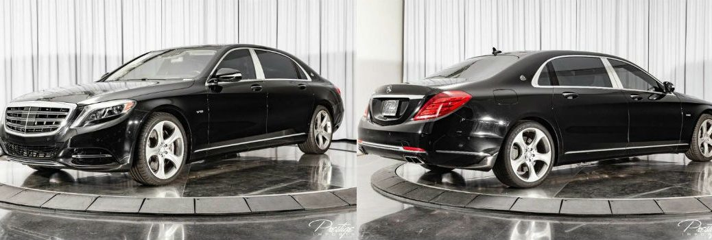 2016 Mercedes-Benz S-Class Maybach S 600 Exterior Driver Side Front Passenger Rear Profiles