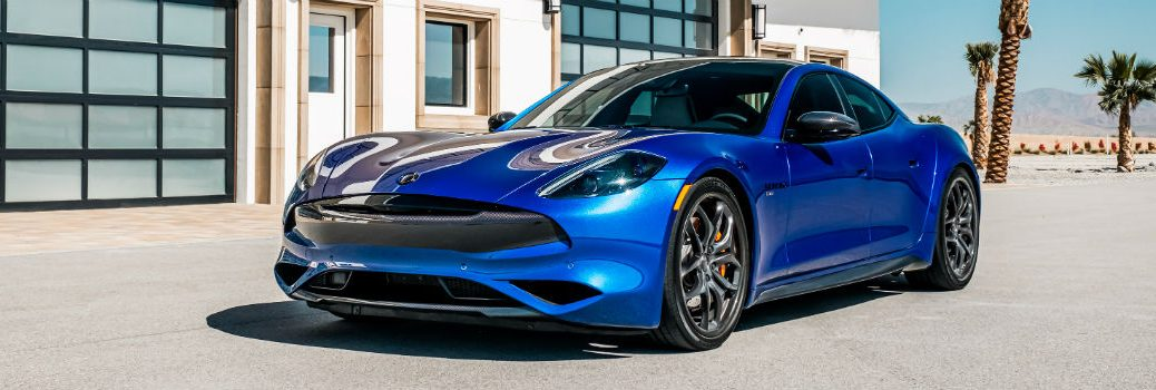 2020 Karma Revero GT Sports Package Exterior Driver Side Front Profile