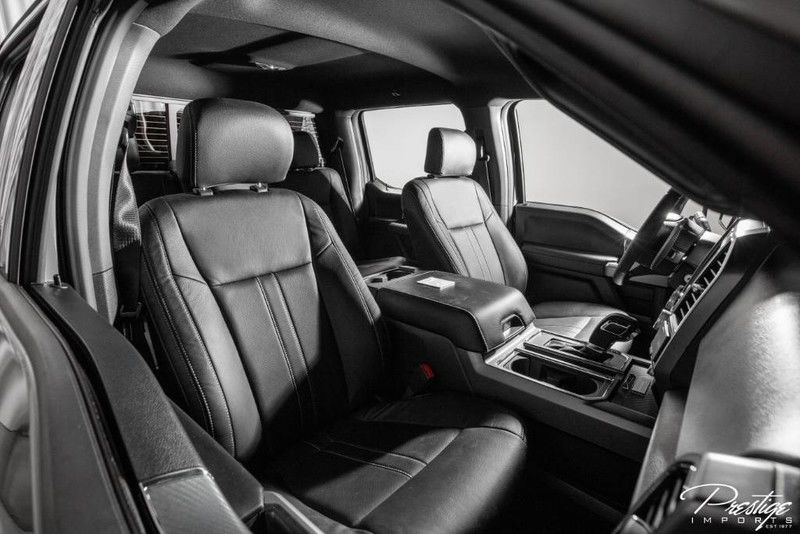 2020 Ford F-150 Mil-Spec Automotive Interior Cabin Front Seating