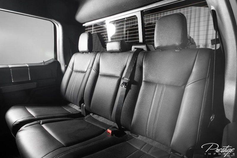 2020 Ford F-150 Mil-Spec Automotive Interior Cabin Rear Seating