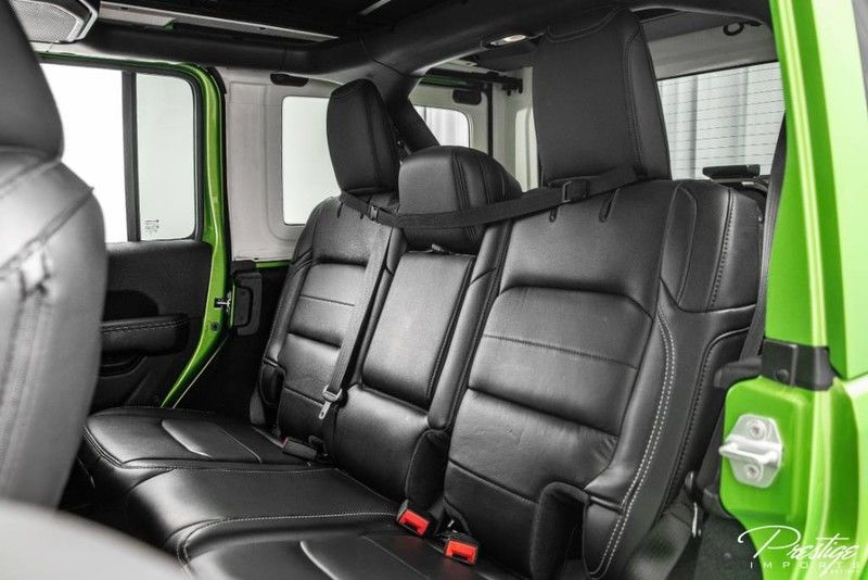 2019 Jeep Wrangler Unlimited Sahara Interior Cabin Rear Seating