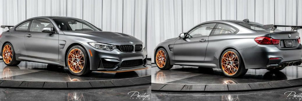 2016 BMW M4 GTS Exterior Passenger Side Front Driver Rear Profiles