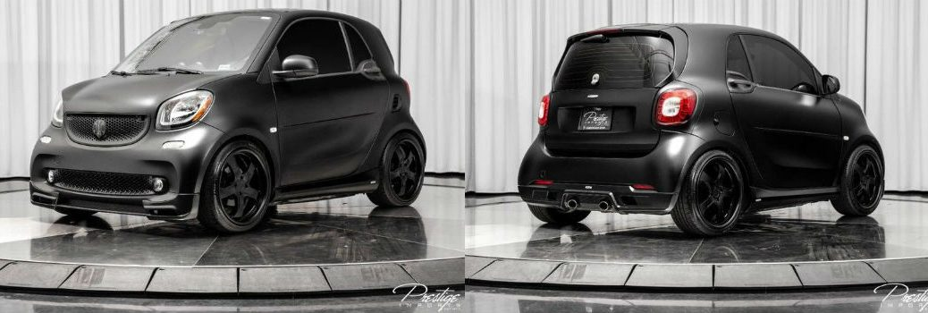 2016 smart fortwo Lorinser Exterior Driver Side Front Passenger Rear Profiles