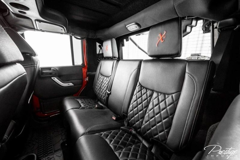 2016 Jeep Wrangler Unlimited 6x6 Hellcat Rubicon Interior Cabin Rear Seating