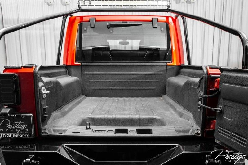 2016 Jeep Wrangler Unlimited 6x6 Hellcat Rubicon Interior Truck Bed