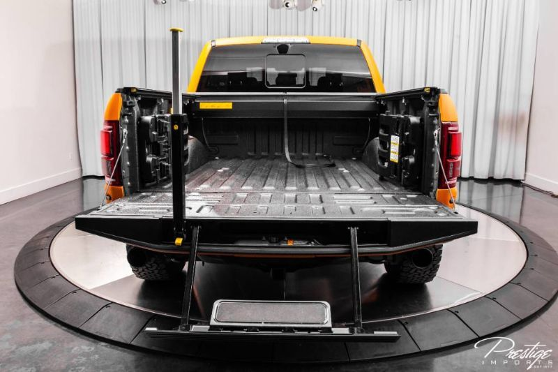 2020 Ford F-150 Raptor Interior Truck Bed
