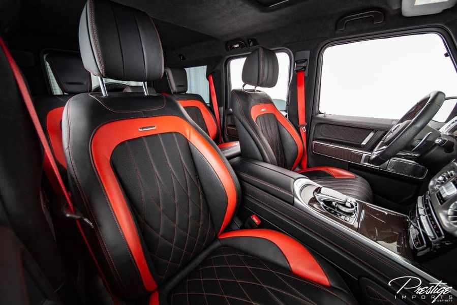 2019 Mercedes-Benz AMG G 63 Edition One Interior Cabin Seating