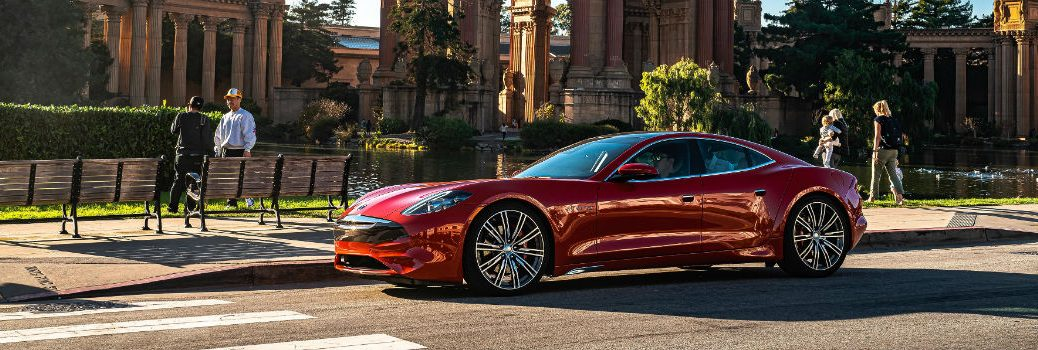 2020 Karma Revero GT Exterior Driver Side Front Profile