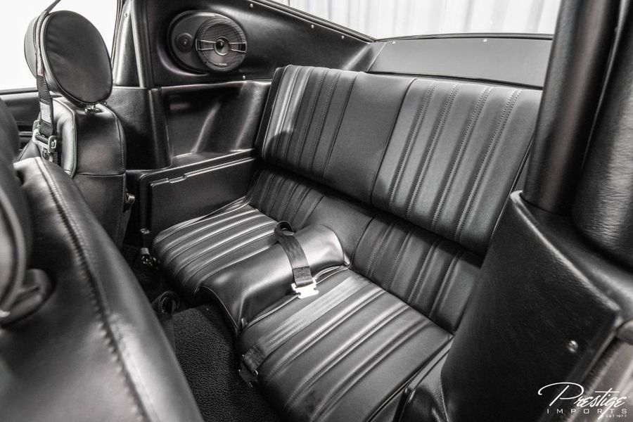 1967 Ford Shelby GT500CR Recreation Interior Cabin Rear Seating