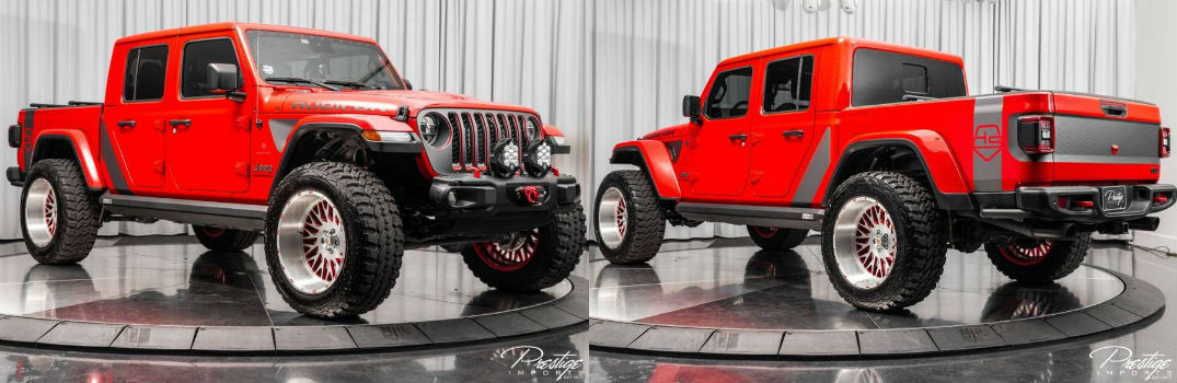 2020 Jeep Gladiator by Dalto For Sale North Miami Beach FL