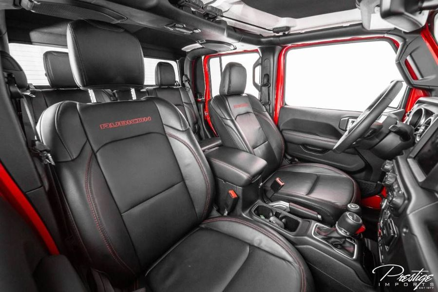 2020 Jeep Gladiator by Dalto Interior Cabin Front Seating