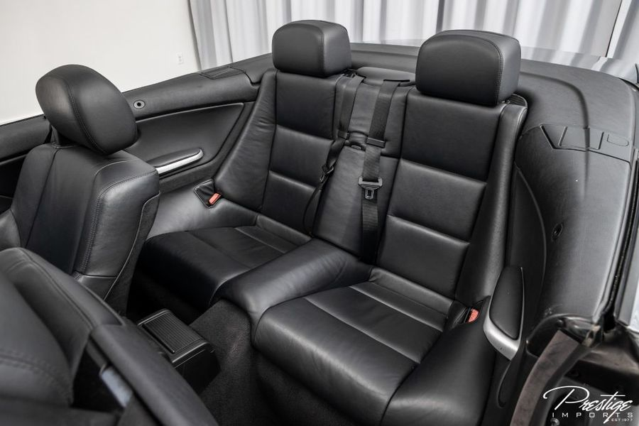 2004 BMW 3 Series M3 Interior Cabin Rear Seating