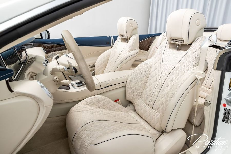 2017 Mercedes-Benz S-Class AMG S 650 Maybach Interior Cabin Front Seating
