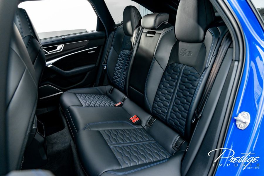 2021 Audi RS 6 Avant Interior Cabin Rear Seating