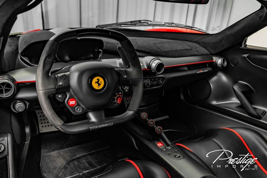 2014 Ferrari LaFerrari Interior Cabin Dashboard