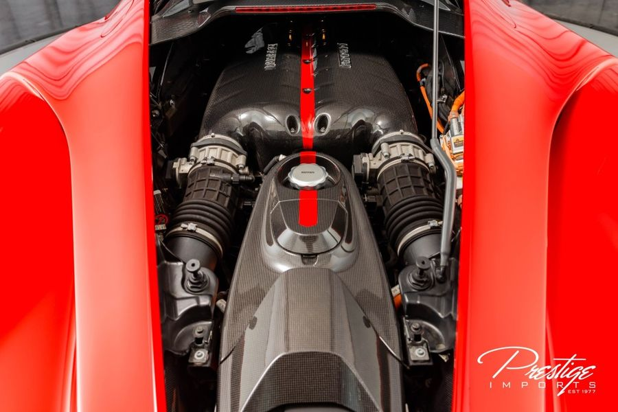 2014 Ferrari LaFerrari Interior Engine Bay