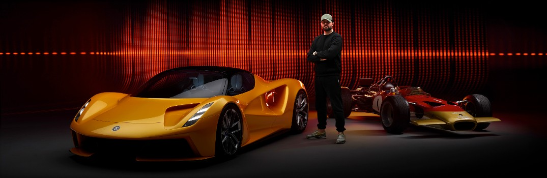Listen to Patrick Patrikios talk about designing the sounds of the Lotus Evija