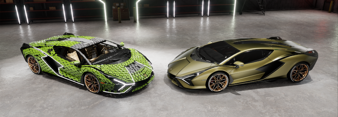 Check Out the First Life-size LEGO Lamborghini Sian FKP 37