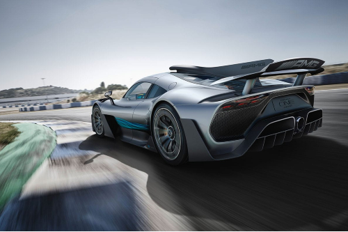 AMG One rear exterior