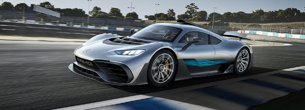 AMG One exterior front and side