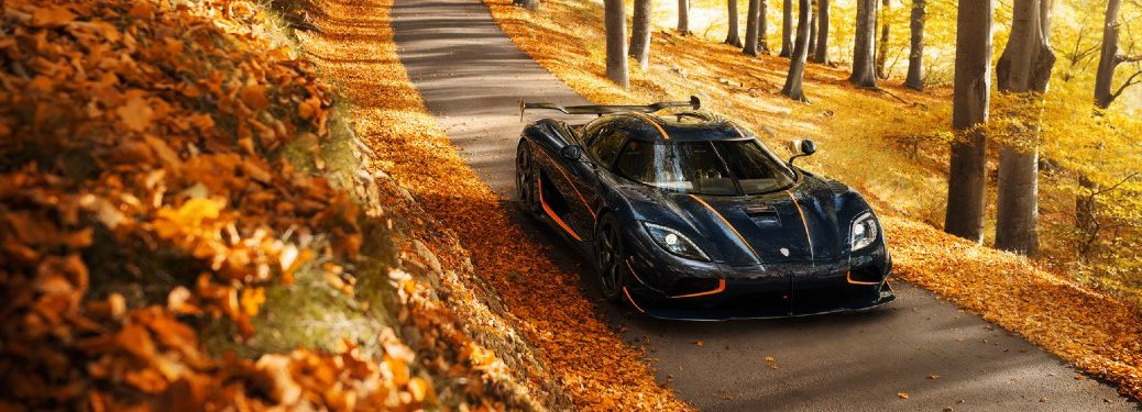 Koenigsigg Agera RS in forest