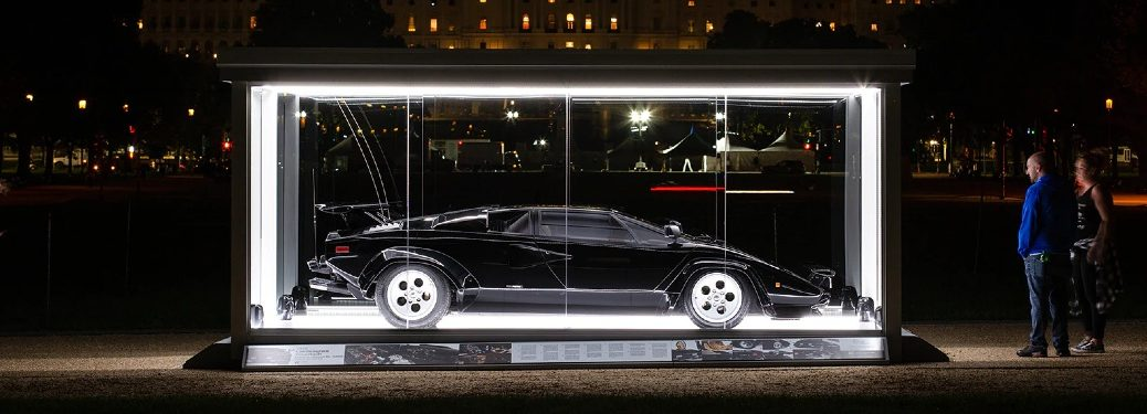 1981 Countach from Cannonball Run side profile