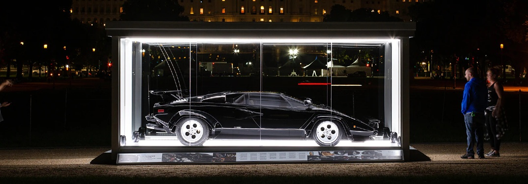 Cannonball Run Movie Lamborghini Countach Inducted into Library of Congress