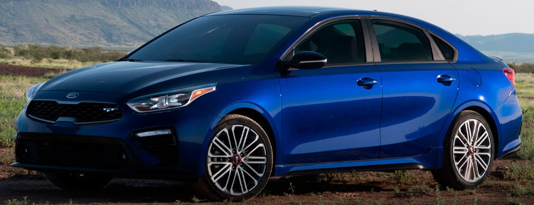 Side view of the 2021 Kia Forte